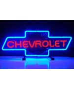 Chevrolet Bowtie Neon Sign by Neonetics
