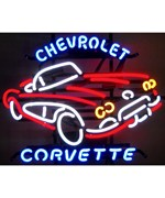Chevrolet Corvette C1 Neon Sign by Neonetics
