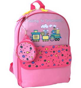Childrens Backpack - Going to Grandmas Image