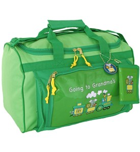 Childrens Duffle Bag - Going To Grandmas Image