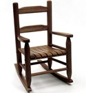Childrens Rocking Chair - Walnut