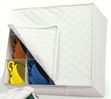Quilted Vinyl Cup Chest Image