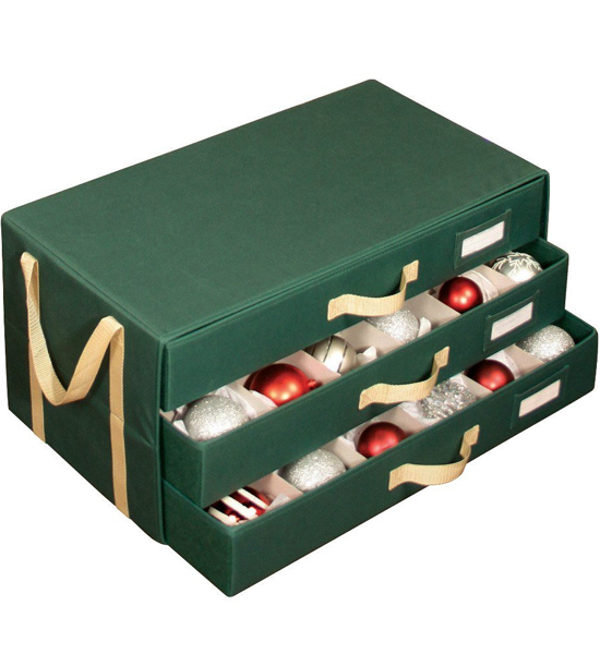 christmas ornament boxes - Christmas Decoration Storage Box