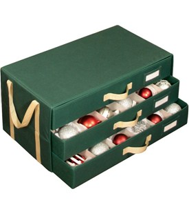 Christmas Ornament Storage Chest Image
