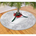 Christmas Tree Skirt - Snowflakes