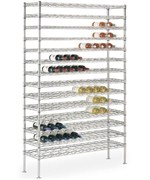 Chrome Commercial Wine Racks
