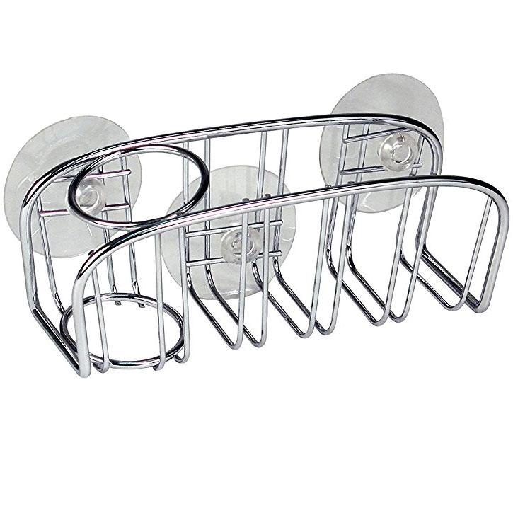 Dish Brush Holder   Chrome Price: $7.99