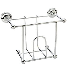 Chrome Magazine Rack Image