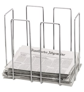 Blomus Chrome Newspaper Bin Image