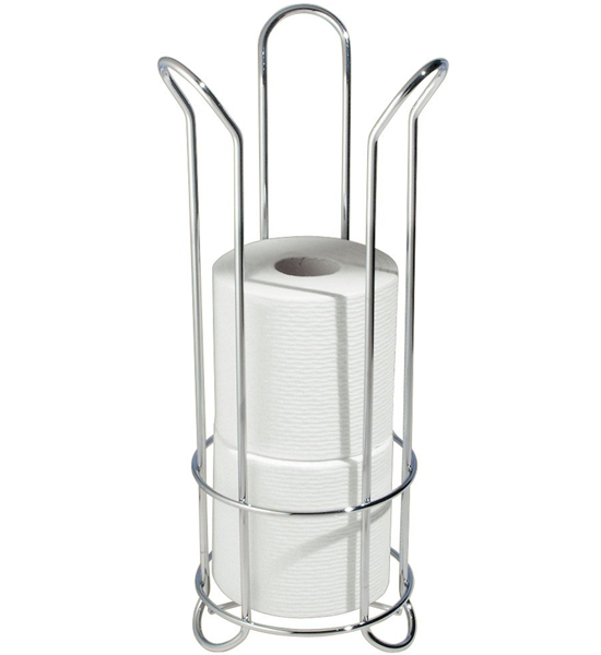 chrome reserve tissue holder in toilet paper storage. Black Bedroom Furniture Sets. Home Design Ideas