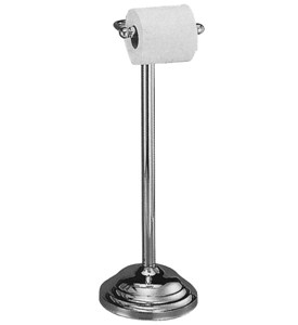 Chrome Toilet Paper Stand Image