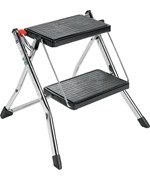 Chrome Two Step Ladder