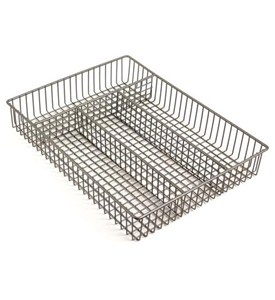 Chrome Wire Flatware Drawer Organizer Image