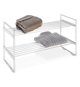 Stacking Chrome Shoe Shelf Image