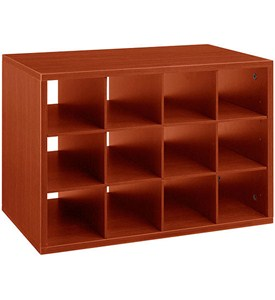 freedomRail O-Box Cubby Unit - Cherry Image