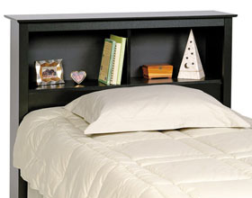 Storage beds and headboards at Organize It