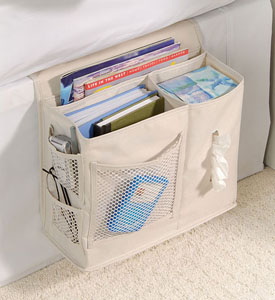 Bedside storage and organizers at Organize-It