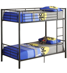 Bunk Beds with a Futon and Camping Bunks at Organize-It