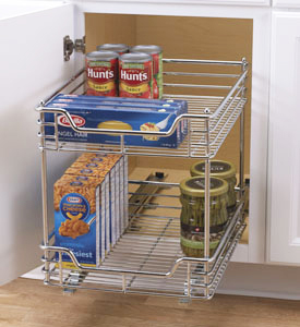 Center Mount Pantry Roll-Out System