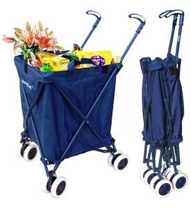 The VersaCart folding shopping cart