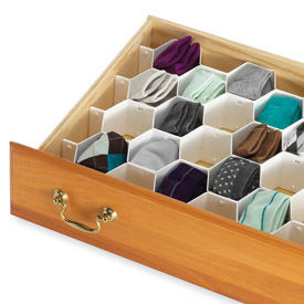 Closet Drawer Organizers And Dividers