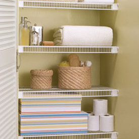 Closet Shelving at Organize-It