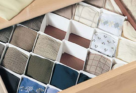Charming Closet Drawer Organizers | Drawer Dividers | Dresser Drawer Organizers