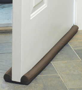 Door and Window Draft Stopper in Tan
