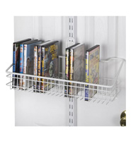 freedomRail Over the Door DVD Rack