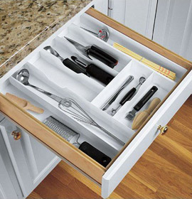 Kitchen Drawer Organizers And Trays Organize It