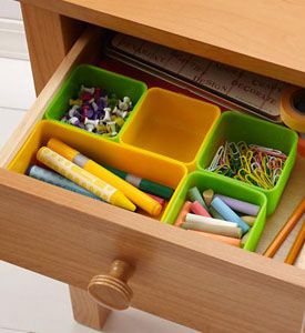 Bamboo Adjustable Kitchen Drawer Organizer
