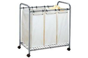 Three Bag Laundry Sorter