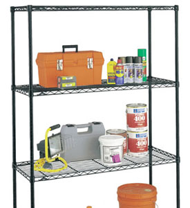 InterMetro shelving and accessories at Organize-It