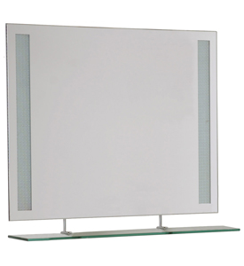 Double Sided Lighted Mirror