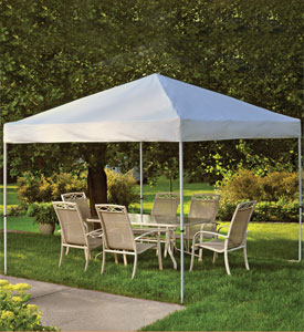Canopies and Pop-Up Tents at Organize-It
