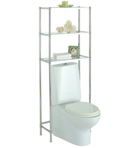 Beau These Over The Toilet Shelving Units Give You A Stylish And Create Way To  Add Instant Storage Space To Your Bathroom. These Freestanding Shelves Are  ...