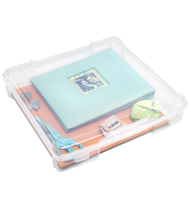 Plastic Photo Storage Box