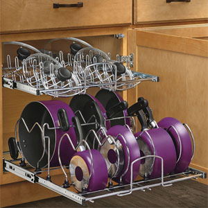 Pull Out Cabinet Baskets and Organizers at Organize-It