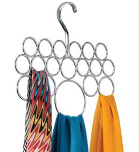 Scarf Hangers at Organize-It