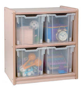 Interlocking Wire Storage Cubes - Black