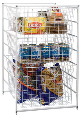 Stor-Drawer Wire Basket Storage Systems at Organize-It