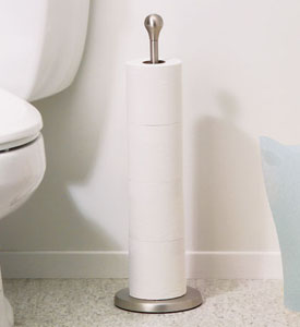 Toilet accessories at Organize-It