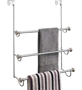 InterDesign Over the Door Towel Rack