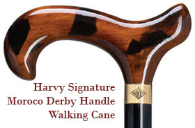 Signature Morocco Derby Handle Mens Walking Cane