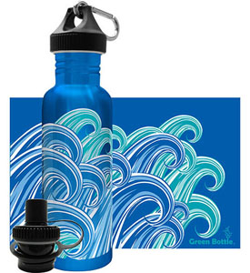 Water Bottles and Accessories at Organize-It