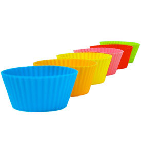 Silicone Muffin Cups - Jumbo 