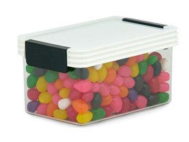 Rectangle Click Clack Canister - 