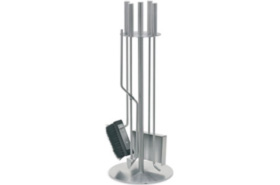 Stainless Steel Fireplace Tool Set