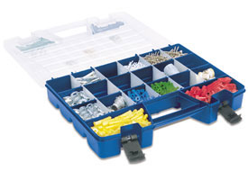 Portable Lid-Storage Divided Organizer
