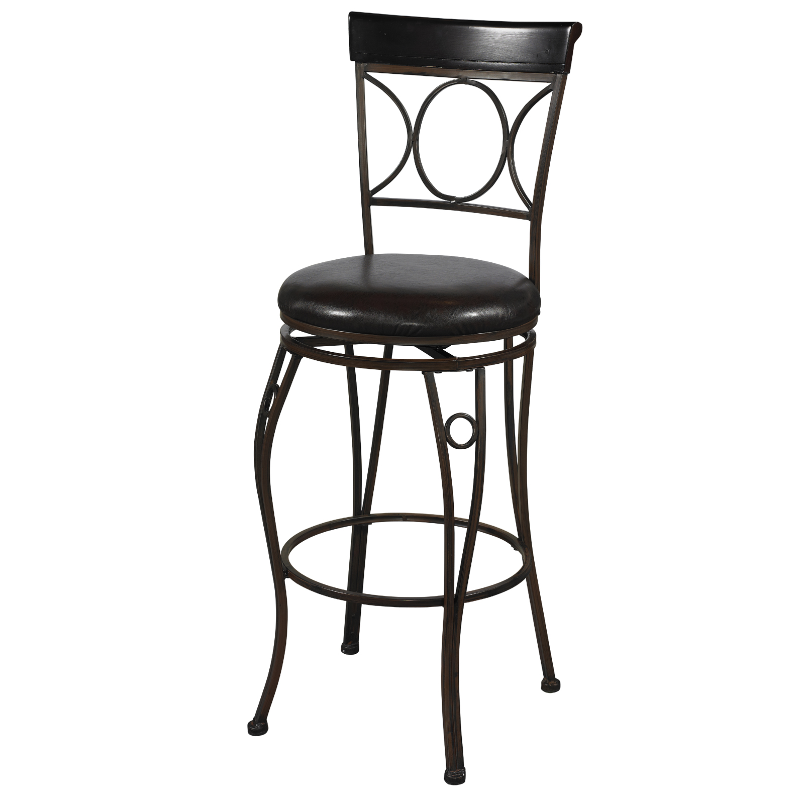 ... Bar Stool · Circles Back Kitchen Stool by Linon Home Decor ...  sc 1 st  Organize-It & Metal Bar Stools and Bar Chairs | Organize-It islam-shia.org